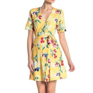 Alexia Admor Floral Wrap Dress NWT